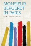 Portada de MONSIEUR BERGERET IN PARIS