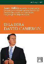 Portada de ES LA HORA DAVID CAMERON (EBOOK)