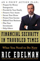 Portada de FINANCIAL SECURITY IN TROUBLED TIMES