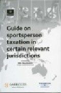 Portada de GUIDE ON SPORTSPERSON TAXATION IN CERTAIN