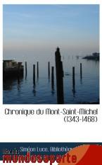 Portada de CHRONIQUE DU MONT-SAINT-MICHEL (1343-1468)