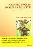 Portada de CONFIDENCIAS DESDE LA MUERTE: TESTIMONIOS CELEBRES CANALIZADOS