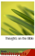 Portada de THOUGHTS ON THE BIBLE