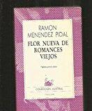 Portada de FLOR NUEVA DE ROMANCES VIEJOS