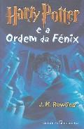 Portada de HARRY POTTER E A ORDEM DA FENIX