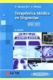 Portada de TERAPEUTICA MEDICA EN URGENCIAS 2010-2011