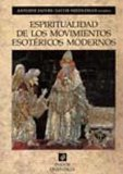 Portada de ESPIRITUALIDAD DE LOS MOVIMIENTOS ESOTERICOS MODERNOS