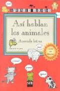 Portada de ASI HABLAN LOS ANIMALES
