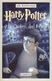 Portada de HARRY POTTER Y LA ORDEN DEL FENIX