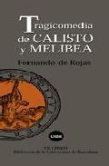 Portada de TRAGICOMEDIA DE CALIXTO Y MELIBEA