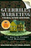 Portada de GUERRILLA MARKETING FOR REAL ESTATE INVESTORS: 101 WAYS TO MARKET YOUR BUSINESS: VOLUME 1