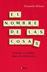 Portada de EL NOMBRE DE LAS COSAS (EBOOK)