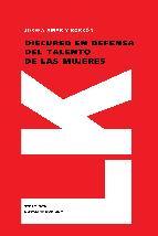 Portada de DISCURSO EN DEFENSA DEL TALENTO DE LAS MUJERES (EBOOK)