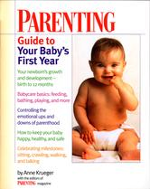 Portada de PARENTING GUIDE TO YOUR BABY'S FIRST YEAR