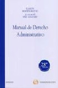 Portada de MANUAL DE DERECHO ADMINISTRATIVO