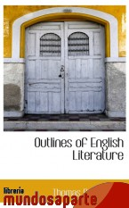 Portada de OUTLINES OF ENGLISH LITERATURE