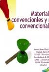 Portada de MATERIALES CONVENCIONALES Y NO CONVENCIONALES
