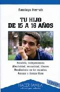 Portada de TU HIJO DE 15 A 16 AÑOS