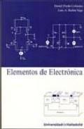 Portada de ELEMENTOS DE ELECTRONICA