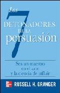 Portada de LOS DETONADORES DE LA PERSUASION