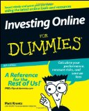 Portada de INVESTING ONLINE FOR DUMMIES