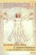 Portada de EL VIVIENTE HUMANO: ESTUDIOS BIOFILOSOFICOS Y ANTROPOLOGICOS