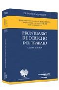 Portada de PRONTUARIO DE DERECHO DEL TRABAJO