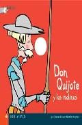 Portada de DON QUIJOTE Y LOS MOLINOS