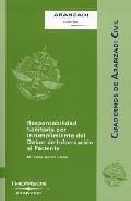 Portada de RESPONSABILIDAD SOBRE COMENTARIOS DE LEY ORGANICA DEL DEFENSOR DEL PUEBLO