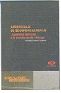 Portada de APRENDIZAJE DE SEGUNDAS LENGUAS: LINGÜISTICA APLICADA A LA ENSEÑANZA DE IDIOMAS