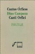 Portada de CANTOS ORFICOS / CANTI ORFICI