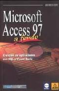 Portada de MICROSOFT ACCESS 97 A FONDO