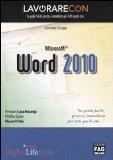Portada de LAVORARE CON MICROSOFT WORD 2010 (PRO DIGITALLIFESTYLE)
