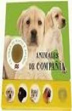 Portada de ANIMALES DE COMPAÑIA: LIBRO DE TACTO Y SONIDO