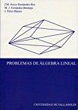 Portada de PROBLEMAS DE ALGEBRA LINEAL
