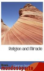 Portada de RELIGION AND MIRACLE