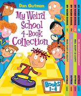 Portada de MY WEIRD SCHOOL 4-BOOK COLLECTION WITH BONUS MATERIAL