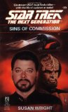Portada de SINS OF COMMISSION (STAR TREK: THE NEXT GENERATION)