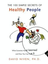 Portada de 100 SIMPLE SECRETS OF HEALTHY PEOPLE