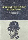 Portada de SINFONIA DE DOS NOVELASD; SU UNICO HIJO