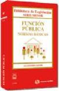 Portada de FUNCION PUBLICA: NORMAS BASICAS 2010