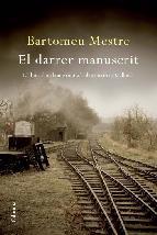 Portada de EL DARRER MANUSCRIT (EBOOK)