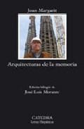 Portada de ARQUITECTURAS DE LA MEMORIA