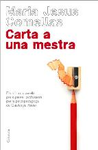 Portada de CARTA A UNA MESTRA (EBOOK)