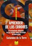 Portada de APRENDER DE LOS ERRORES: EL TRATAMIENTO DIDACTICO DE LOS ERRORES COMO ESTRATEGIA DE INNOVACION