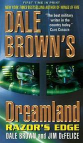 Portada de DALE BROWN'S DREAMLAND: RAZOR'S EDGE