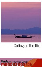 Portada de SAILING ON THE NILE