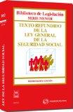 Portada de TEXTO REFUNDIDO DE LA LEY GENERAL DE LA SEGURIDAD SOCIAL