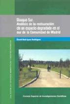 Portada de BOSQUE SUR: ANÁLISIS DE LA RESTAURACIÓN DE UN ESPACIO DEGRADADO EN EL SUR DE LA COMUNIDAD DE MADRID (EBOOK)