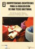 Portada de COMPETENCIAS CIENTIFICAS PARA LA REALIZACION DE UNA TESIS DOCTORAL